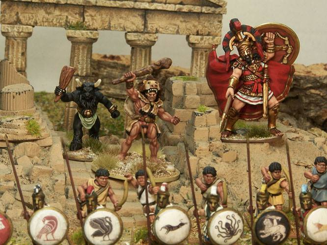 Northstar Miniatures Of Gods and Mortals